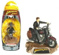 Indiana Jones: Mutt's Custom Motorcycle - Titanium Series Die-Cast Model